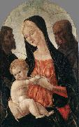 Francesco di Giorgio Martini Madonna and Child with two Saints oil painting reproduction