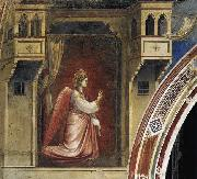 GIOTTO di Bondone The Angel Gabriel Sent by God oil painting reproduction