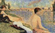 Georges Seurat Bather oil painting reproduction