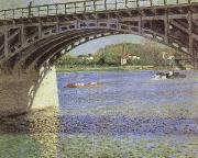 Gustave Caillebotte The Bridge at Argenteuil and the Seine china oil painting artist