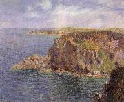 Gustave Loiseau Cape Frehel and La Teignouse Cliffs oil painting reproduction