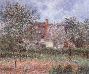 Gustave Loiseau Orchard in Spring painting