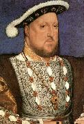 HOLBEIN, Hans the Younger Portrait of Henry VIII oil painting reproduction