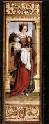 HOLBEIN, Hans the Younger St Barbara oil painting reproduction