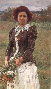 Ilya Repin Autumn oil painting reproduction