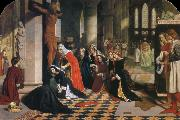 James Collinson The Renunciation of Queen Elizabeth of Hungary oil on canvas