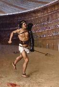 Jean Leon Gerome The Gladiator oil painting reproduction