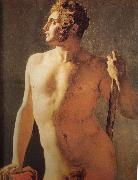 Jean-Auguste Dominique Ingres Man oil painting reproduction