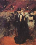 Jean-Louis Forain Ball at the Paris Opera oil painting reproduction