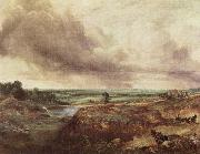 John Constable Hampstead Heat painting
