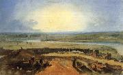 Joseph Mallord William Turner Sunset oil painting reproduction