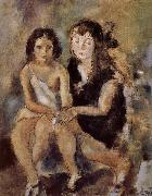 Jules Pascin Clala and Unavian oil painting reproduction