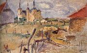 Jules Pascin Landscape oil painting reproduction