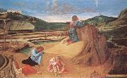 LEONARDO da Vinci A full-scale composition of the Virgin and Child with St Anne and the infant St John the Baptist oil painting reproduction