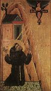MASTER of San Francesco Bardi St Francis Receiving the Stigmata oil painting reproduction