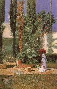 Mariano Fortuny y Marsal Fortuny-s Garden oil