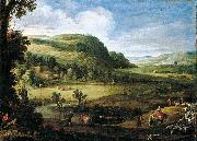 Paul Bril An Extensive Landscape oil painting reproduction