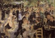 Pierre-Auguste Renoir Le Moulin de la Galette oil painting reproduction