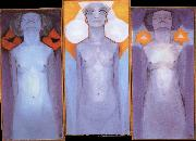 Piet Mondrian Evolution painting