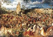 Pieter Bruegel Christ Carrying the Cross oil painting reproduction
