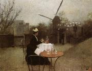 Ramon Casas Out of Doors oil on canvas