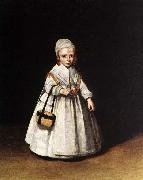 TERBORCH, Gerard Helena van der Schalcke as a Child painting