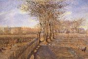 Theodor Esbern Philipsen A Lane at Kastrup oil painting reproduction