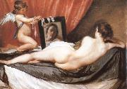 VELAZQUEZ, Diego Rodriguez de Silva y Venus oil painting reproduction