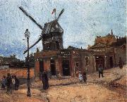 Vincent Van Gogh Le Moulin de la Galette oil painting reproduction