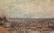Vincent Van Gogh View of Paris From Montmatre china oil painting artist