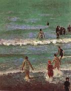 Walter Richard Sickert Bathers at Dieppe oil