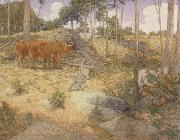 julian alden weir Midday Rest in New England china oil painting reproduction