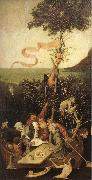 unknow artist Hieronymos Bosch, Ship of Fools painting