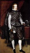 unknow artist Philip IV in Brown and Silver oil painting reproduction