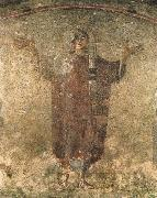 Vaggmalning from Roman catacombs