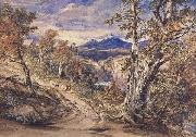 Anthony Vandyck Copley Fielding Scence in Glen Falloch,Argyllshire (mk47) oil on canvas