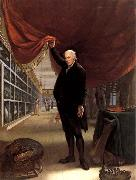 Charles Willson Peale The Artist in his Museum oil on canvas