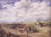 David Cox Keep the Left Road (mk47) oil on canvas