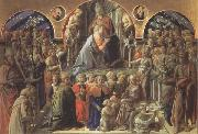 Fra Filippo Lippi Coronation of the Virgin oil painting reproduction