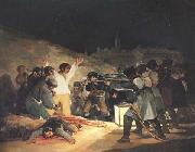 Francisco de Goya Exeution of the Rebels of 3 May 1808 painting