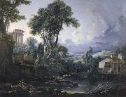 Francois Boucher Landscape oil painting reproduction