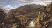 Frederic E.Church Heart of the Andes painting