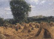 George Robert Lewis Dynedor Hill,Herefordshire (mk47) oil