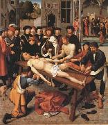 Gerard David The Flaying of the Corrupt Judge Sisamnes (mk45) oil painting reproduction