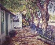 Guy Rose San Gabriel Road oil painting reproduction
