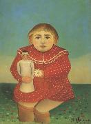 Henri Rousseau Portrait of a Child oil painting reproduction