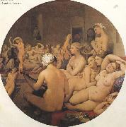 Jean Auguste Dominique Ingres The eTukish Bath (mk45) china oil painting artist