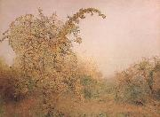 John William North,ARA,RWS The Old Pear Tree (mk46) oil