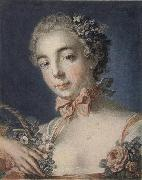 Louis-Marin Bonnet Head of Flora painting