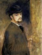 Pierre Auguste Renoir Self-Portrait oil